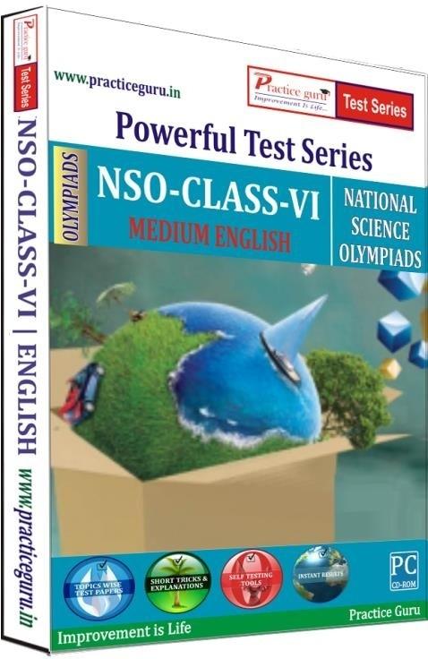 Practice Guru Powerful Test Series - NSO Medium English (Class - 6)
