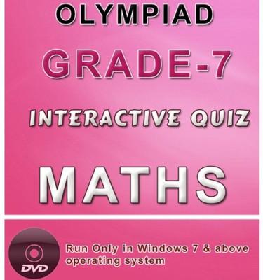 iBooks Class 7 Maths Olympiad Interactive Quiz DVD
