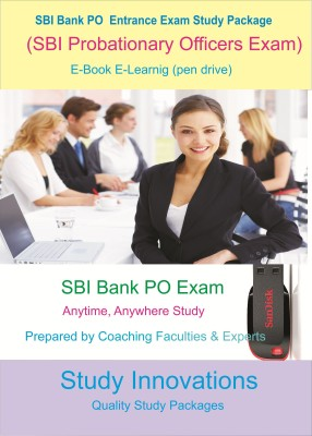 Study Innovations SBI Bank PO (Probationary Officer) Exam Study Package