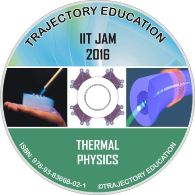 Trajectory Education Thermal Physics (Iit Jam Physics 2016)(DVD)