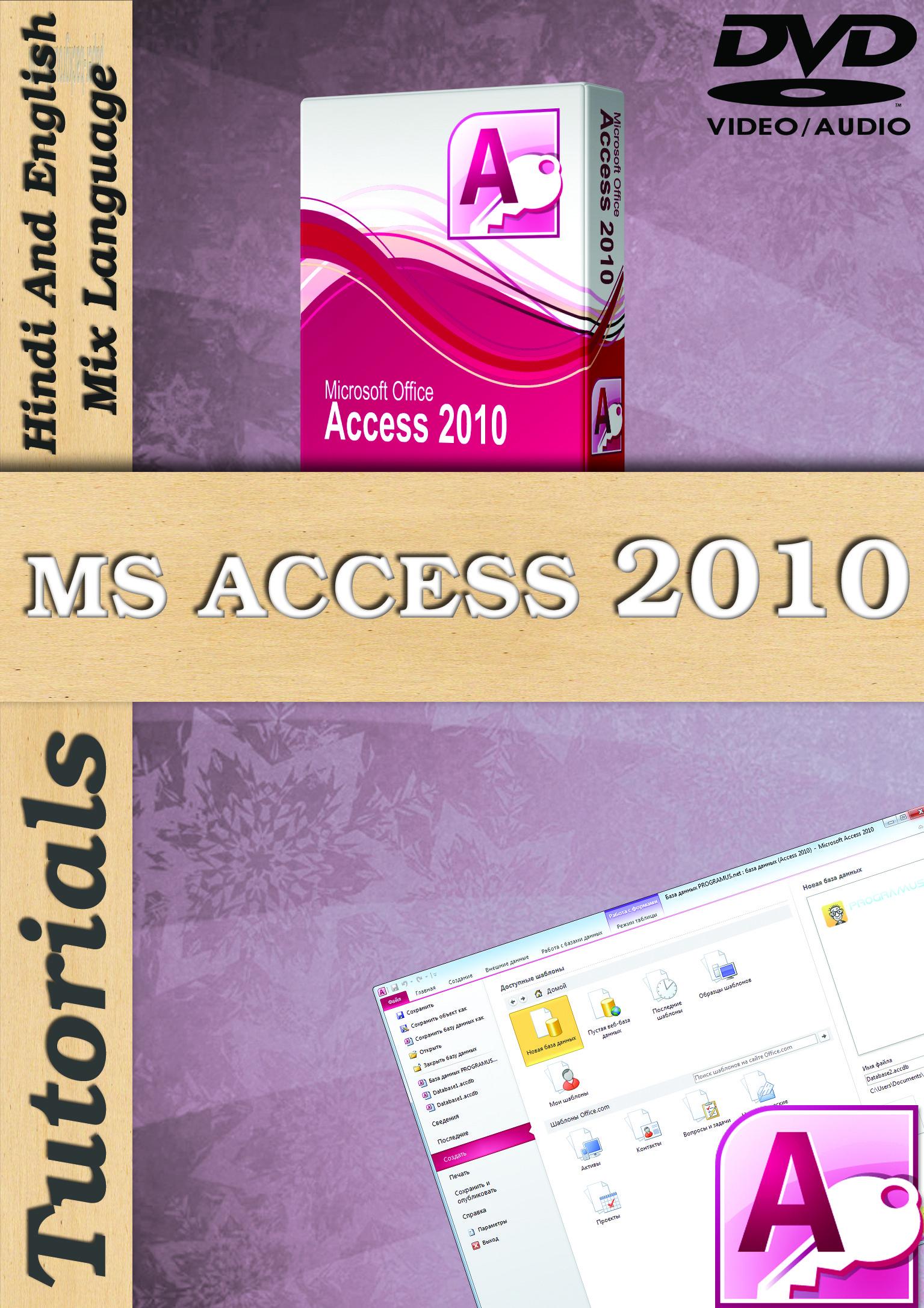 Lsoit Microsoft Access 2010 Tutorials DVD(DVD)