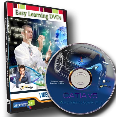 Easy Learning CATIA v5 VTN Video Training Course DVD