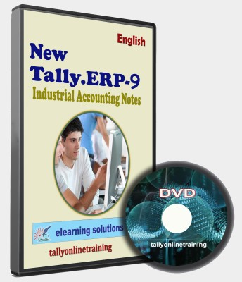 elearning solutions Tally ERP 9 Industrail Accounting Notes in English
