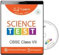 Tupoints Cbse Class 7 Science Offline Test(DVD)