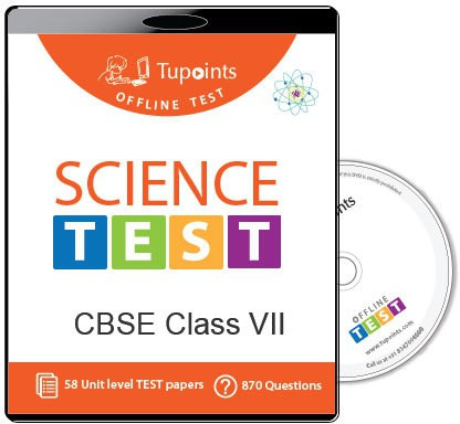 Tupoints Cbse Class 7 Science Offline Test(DVD)