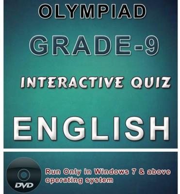 iBooks Class 9 English Olympiad Interactive Quiz DVD