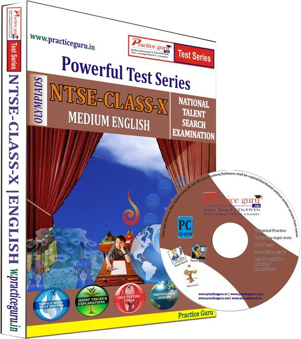 Practice Guru NTSE Class 10 Test Series(CD)