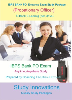 Study Innovations IBPS Bank PO (Probationary Officers) Exam Study Package