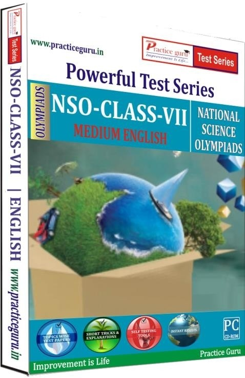 Practice Guru Powerful Test Series - NSO Medium English (Class - 7)