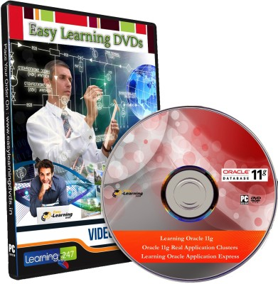 Easy Learning Learn Oracle 11g , Real Application Clusters & Application Express Video Training DVD