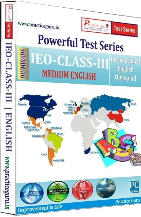 Practice Guru Powerful Test Series - IEO Medium English (Class - 3)