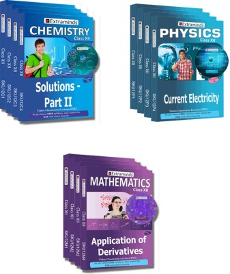 Extraminds Class XII – Combo – Physics-Chemistry-Maths- Lecture DVD