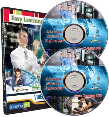 Easy Learning Advanced Network Engineering Video Training on 2 DVDs