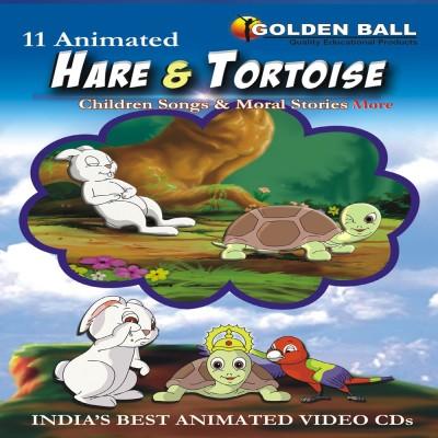 Golden Ball 11 Animated Hare & Tortoise