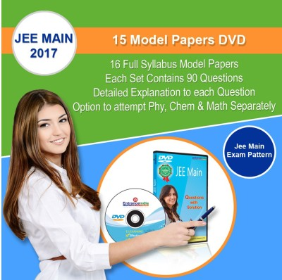 Entranceindia.com JEE Main 2017 15 Model Papers DVD