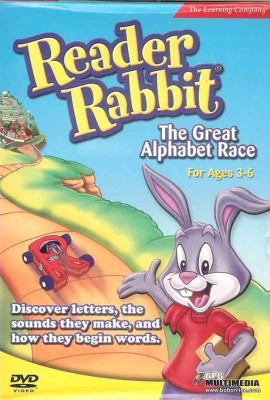 The Learning Company Reader Rabbit The Great Alphabet Race
