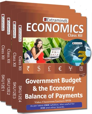 Extraminds Class XII - Combo – Economy- Lecture DVD