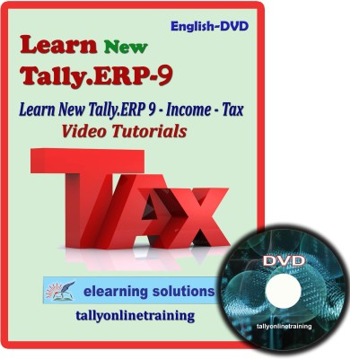 Elearning Solutions New Tally.Erp 9 Income Tax Tutorial in English