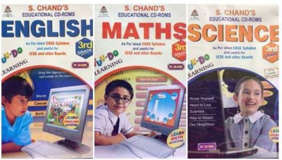 S.CHAND FUN-DO-COMBO PACK -MATHS/SCIENCE/ENGLISH CD FOR 3RD CLASS