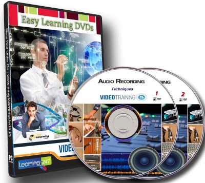 Easy Learning Audio Recording Techniques Video Training Tutorials On 2 DVDs