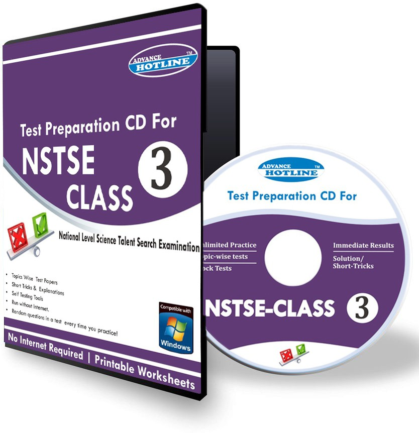 Advance Hotline NSTSE Class 3(CD)