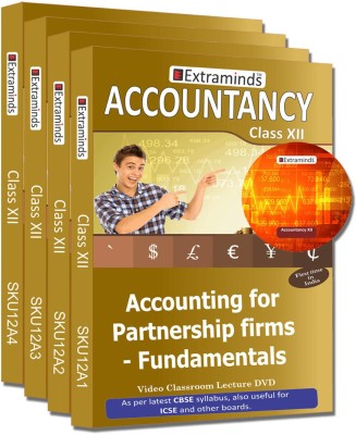 Extraminds Class XII – Combo - ACCOUNTANCY- Lecture DVD