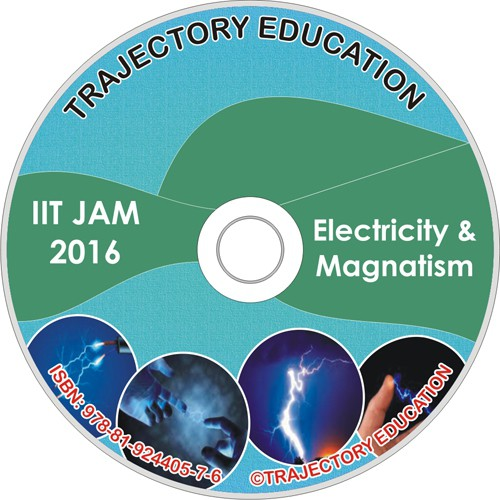 Trajectory Education Electricity & Magnetism (Iit Jam Physics 2016)(DVD)