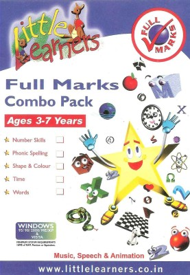 Little Learners Little Learners: Full Marks Combo Pack
