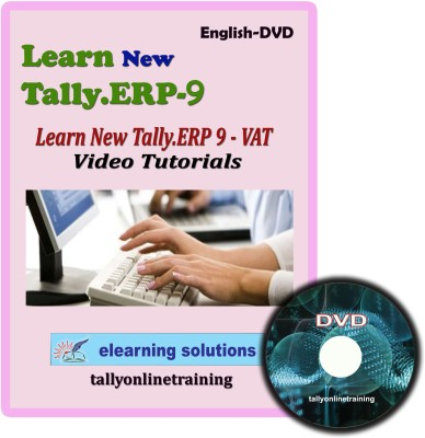 Elearning Solutions New Tally.Erp 9 VAT Video Tutorial in English(DVD)