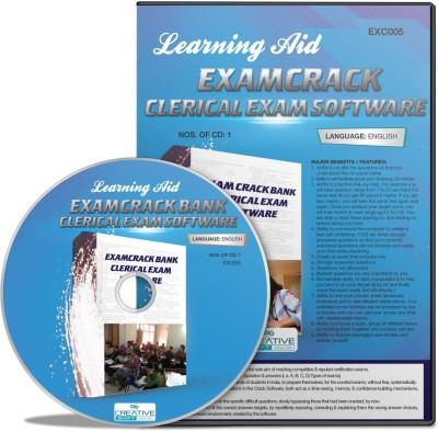 CreativeShift ExamCrack Bank Clerical Exam (English) Software