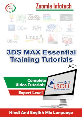 LSOIT Learn Autodesk 3DS Max Software Video Tutorial in Hindi, Total 175 Lectures and Total Duration 8 Hours
