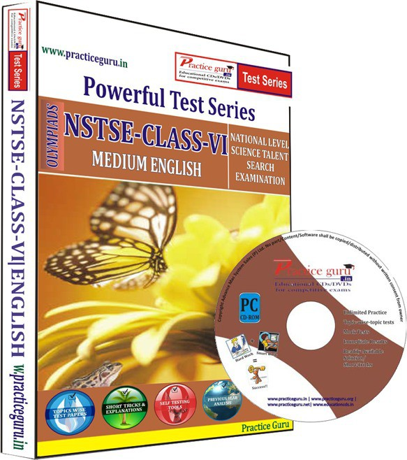 Practice Guru NSTSE Class 6 Test Series(CD)