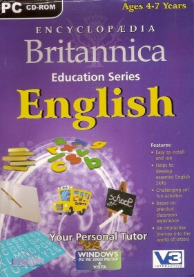 Britannica ENCYCLOPEDIA BRITANNICA ENGLISH (Ages 4-7)
