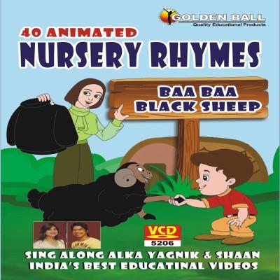 Golden Ball 40 Animated Nursery Rhymes Baa Baa Black Sheep