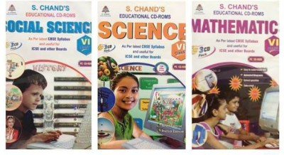 S.CHAND FUN-DO-COMBO PACK -MATHS/SCIENCE/SOCIAL SCIENCE CD FOR 6TH CLASS