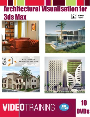 Easy Learning 3Ds Max for Architectural Visualization Bundle Course Pack on 10 DVDs