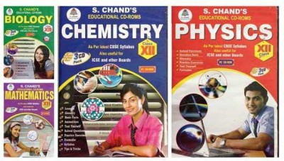 S.Chand PHYSICS/CHEMISTRY/MATHS/BIOLOGY- COMBO PACK CD FOR 12TH CLASS
