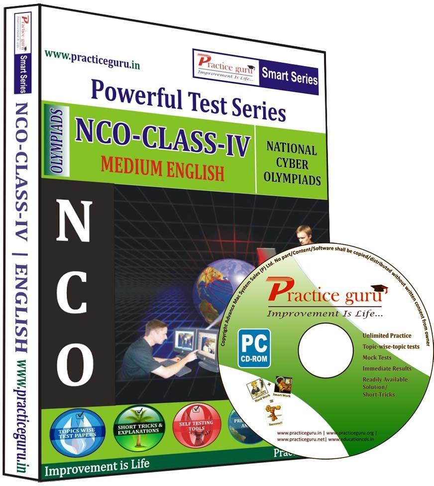 Practice Guru Powerful Test Series NCO Medium English (Class - 4)