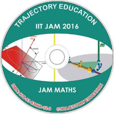 Trajectory Education Iit Jam Maths 2016(DVD)