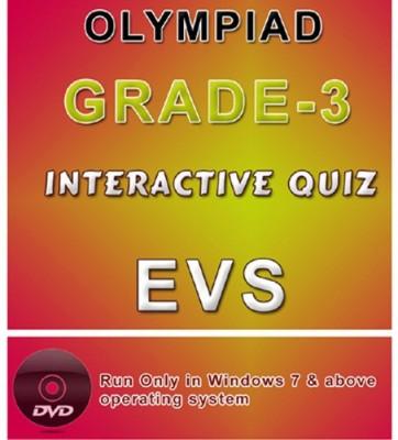 iBooks Class 3 Evs Olympiad Interactive Quiz DVD