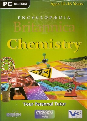 Britannica ENCYCLOPEDIA BRITANNICA CHEMISTRY (Ages 14-16)