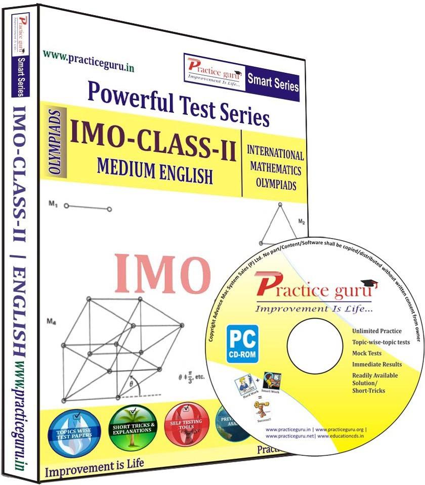 Practice Guru Powerful Test Series IMO Medium English (Class - 2)