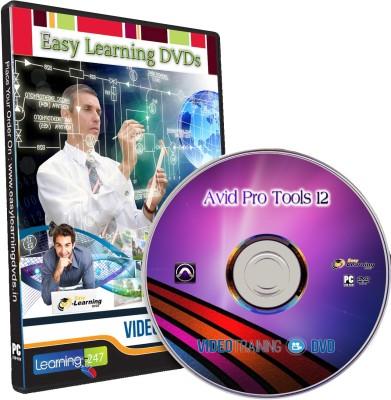 Easy Learning Avid Pro Tools 12 Video Training Tutorial DVD