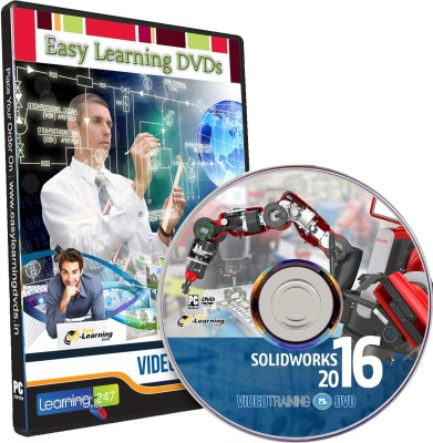 Easy Learning SolidWorks 2016 Video Training Tutorial DVD