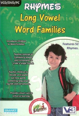 Smart Learning Rhymes Long Vowel Word Families