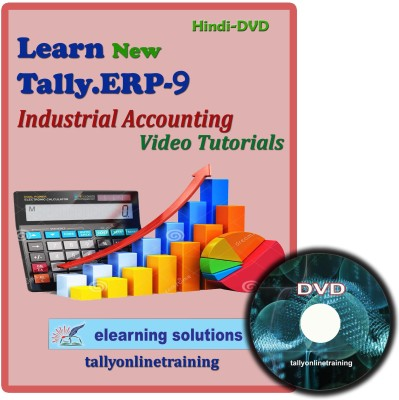 Elearning Solutions Tally.ERP 9 Industrial Accouting Video Tutorial in Hindi