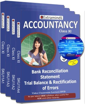 Extraminds Class XI – Combo - ACCOUNTANCY- Lecture DVD