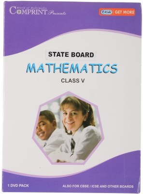COMPRINT State Board Mathematics Class 5 DVD