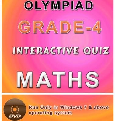 iBooks Class 4 Maths Olympiad Interactive Quiz DVD