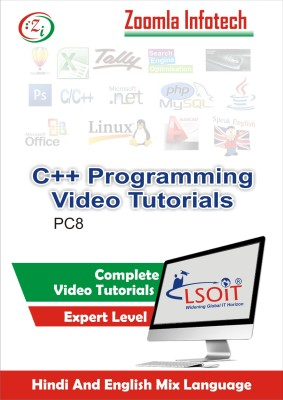 LSOIT Learn C++ Programming Video Tutorials in Hindi, Total 189 Lectures and Total Duration 15 Hours